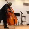 "Teacher Trainer from ""Jazz Mobile"" Darnell Jay Starkes performing in the daily recital. Photo by Richard Casamento."