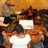 Orchestra elective at the O'Connor Method Camp NYC. Photo by Richard Casamento.
